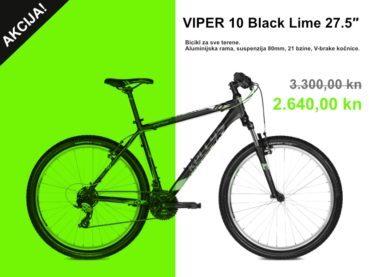 VIPER 10 Black Lime 27.5″ akcija