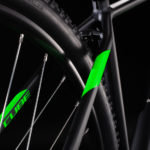 CUBE AIM RACE BLACK'N'FLASHGREEN 2020
