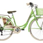 Cinzia 26″ BELLE EPOQUE Lady 6B V-Brake Apple green