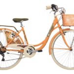Cinzia 26″ BELLE EPOQUE Lady 6B V-Brake Peach orange