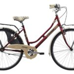 Cinzia 26″ FRIENDLY LADY Single speed V-Brake Burgundy