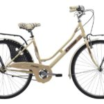 Cinzia 26″ FRIENDLY LADY Single speed V-Brake Cream