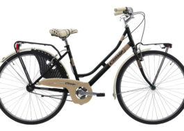 Cinzia 26″ FRIENDLY LADY Single speed V-Brake Black