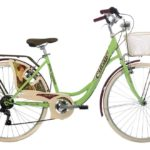 CINZIA 26″ BELLE EPOQUE LADY 6B V-BRAKE GREEN