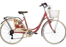 CINZIA 26″ BELLE EPOQUE LADY 6B V-BRAKE RUBINE
